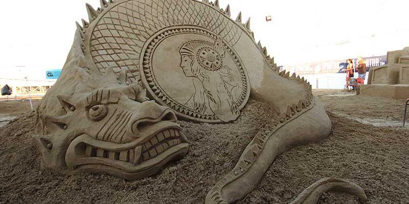 World Master di Sculture di Sabbia a Cervia